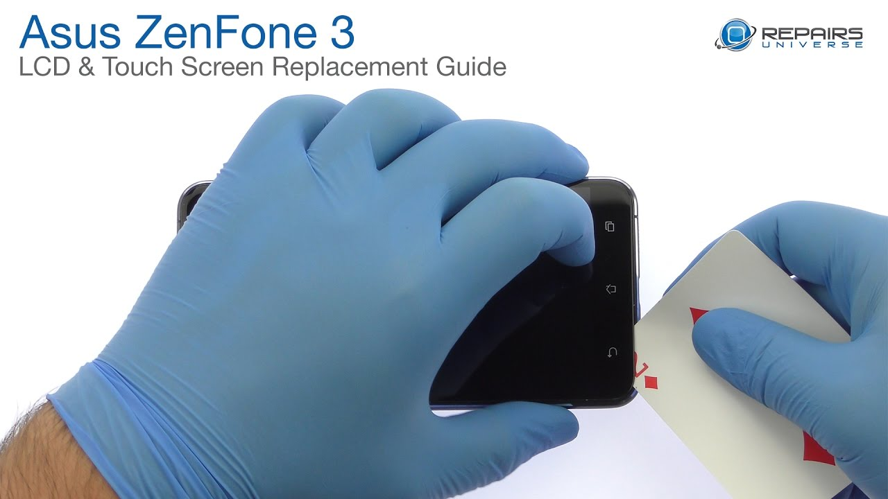 Asus Zenfone 3 - LCD and Touch Screen Replacement Guide