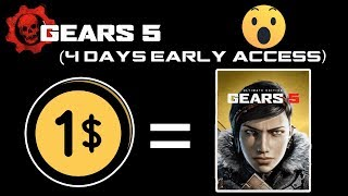 How to Get Gears Of War (Gears 5) For Free - 1$ Ultimate Subscription
