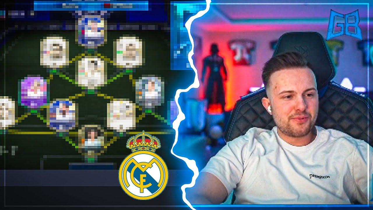 GamerBrother BAUT REAL MADRID LEGENDS TEAM für die WL 🔥 | GamerBrother Stream Highlights