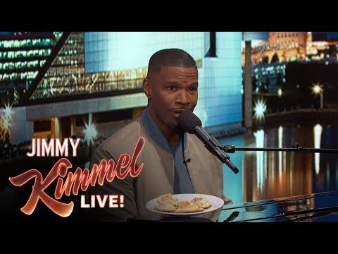 Jamie Foxx Cheers Up Cleveland with a Song