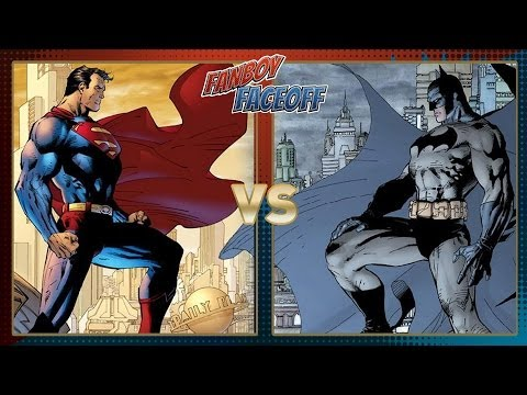 Gotham City vs Metropolis: Fanboy Faceoff