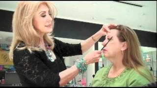 Christi Harris Brow Makeover on Sweepstakes Winner