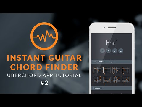 Uberchord App Tutorial #2: Instant Guitar Chord Finder