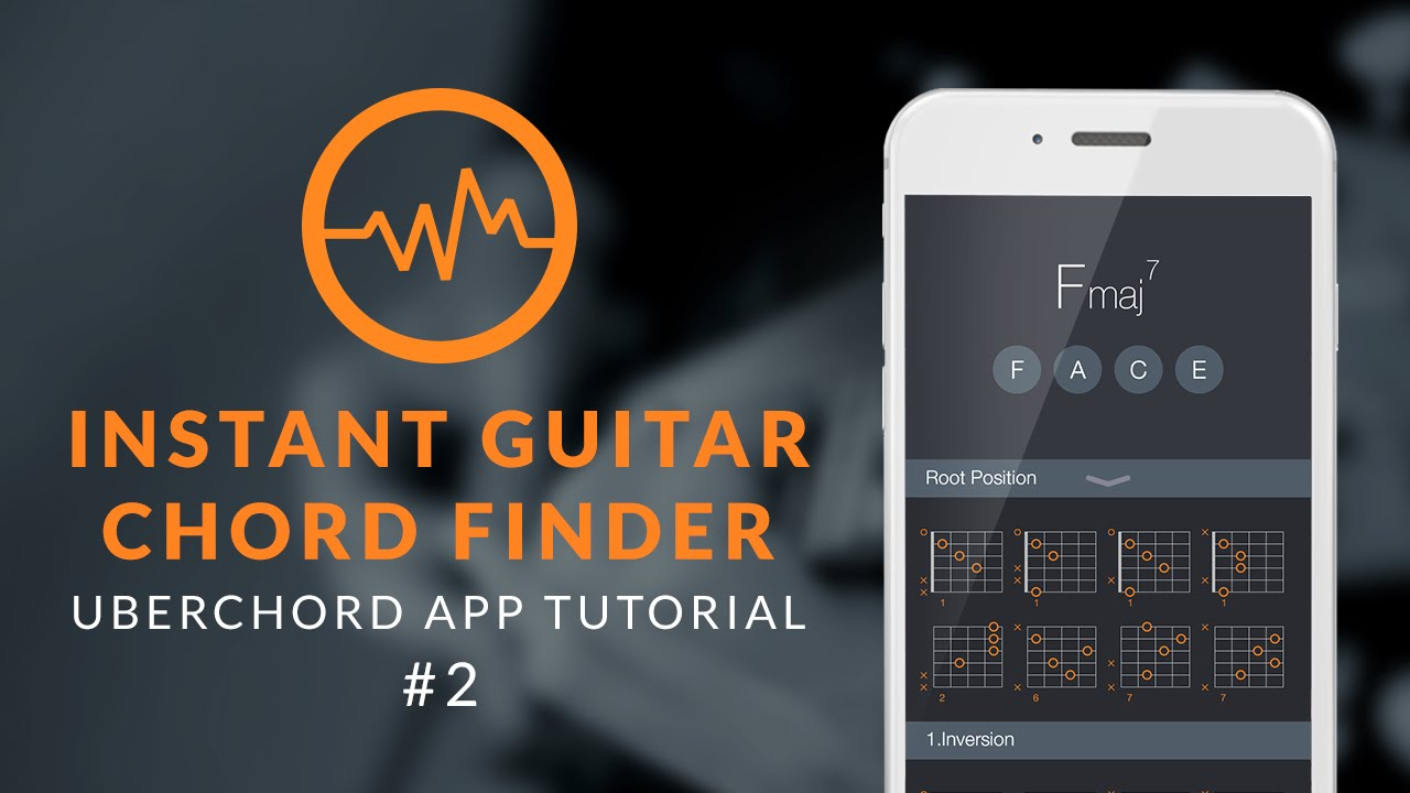 Uberchord App Tutorial 2 Instant Guitar Chord Finder Youtube