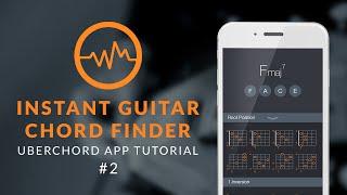 Uberchord App Tutorial #2: Instant Guitar Chord Finder