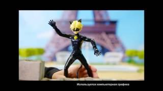 видео Фигурка Супер Кот, 13 см Bandai
