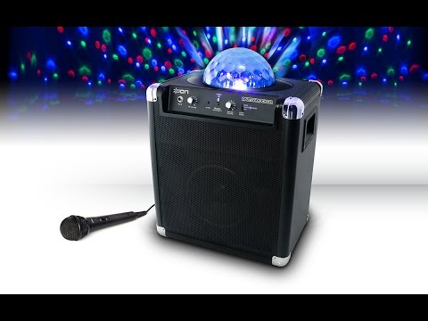 ION Party Rocker With Party Lights, Mic & Bluetooth Speakers @ JB Hi-Fi