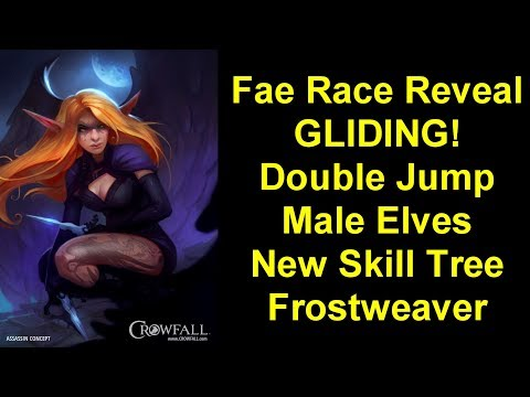 Crowfall Patch 5.6 Preview - Fae Reveal, Gliding Mechanic + Double Jump, New Skill Tree, Frostweaver