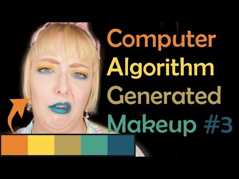 Computer Algorithm Picks My Makeup Ep3 - Capri Sun