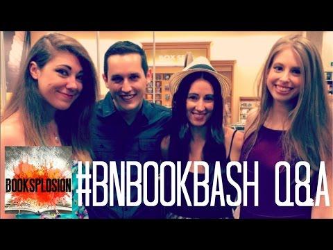 #BNBookBash Q&A | Featuring @xtineMAY @kat_tastic @jessethereader @valerietejda