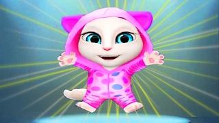 МОЯ ГОВОРЯЩАЯ АНДЖЕЛА #11 😻😻😻  Анжела маленькая  -  игровой мультик Funny Games