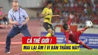 ✅ CẢ CHÂU Á CHOÁNG VÁNG ! với bàn thắng đẳng cấp Quang Hải Malaysia thành chú MÈO ngoan ngoãn