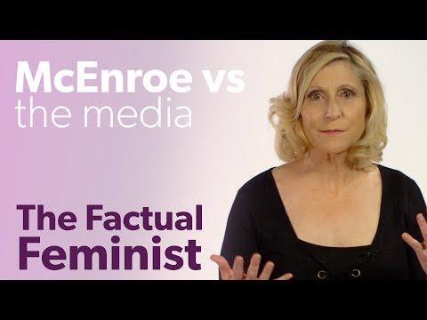 John McEnroe on Serena Williams: A media meltdown | FACTUAL FEMINIST