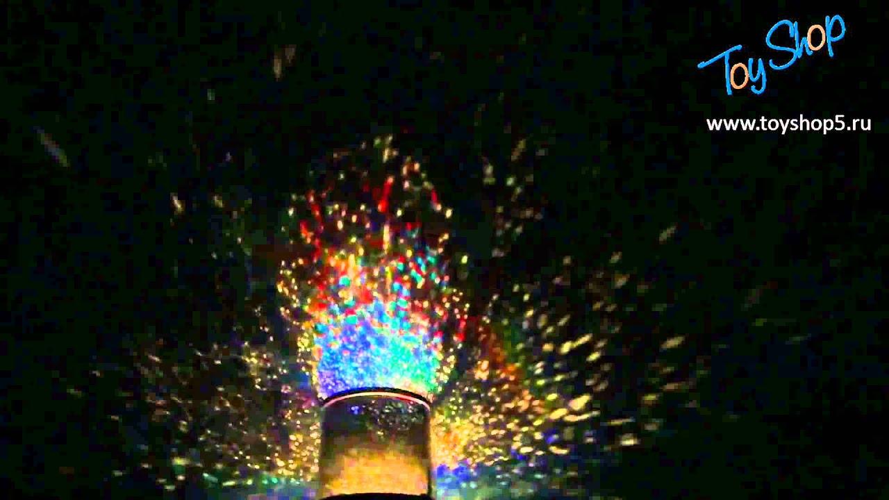 Проектор звездного неба уфа - YouTube