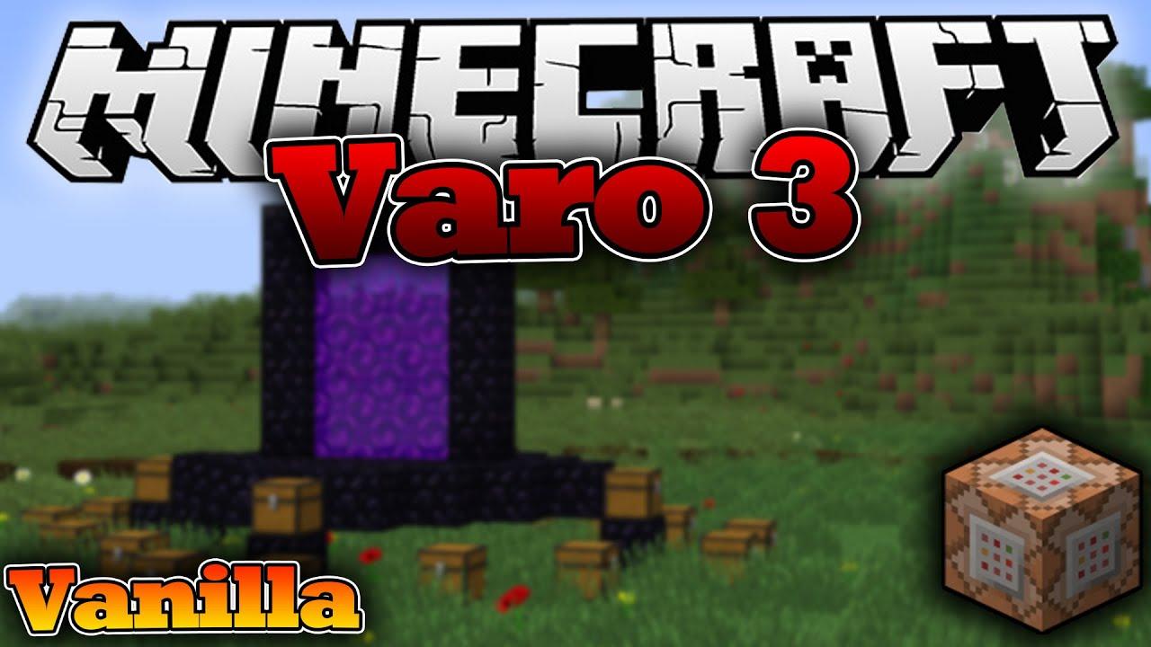 Minecraft Varo In VANILLA Ohne Mods Plugins Download - Minecraft varo spielen kostenlos