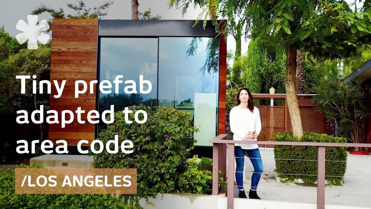 La Startup Offers Custom Small Prefabs Adapted To Area Code Youtube