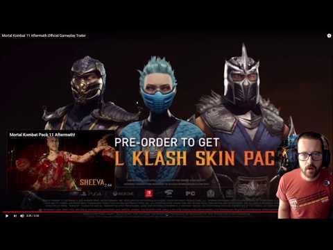 Mortal Kombat 11 Aftermath Gameplay Reaction! |
