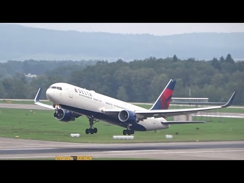 Zurich Airport Plane Spotting - Morning Takeoffs (THANKS FOR 3M CHANNEL VIEWS!)