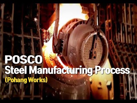 [POSCO] A Movie of the Steel Manufacturing Process (Pohang Works)