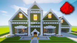 REALISTIC REDSTONE HOUSE (Fully Function Redstone House) - Minecraft Maps