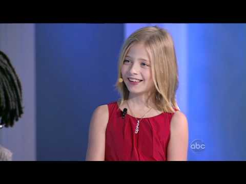 Jackie Evancho - The View Nov 15, 2010 COMPLETE