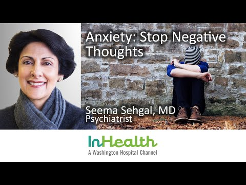 Anxiety: Stop Negative Thoughts