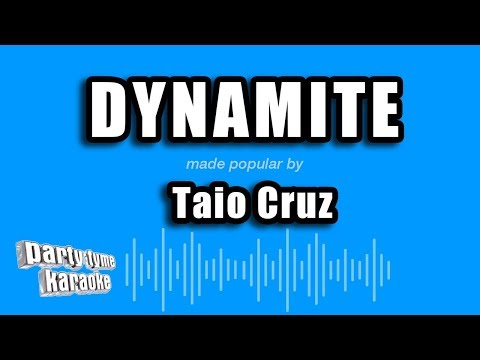 Taio Cruz - Dynamite (Karaoke Version) mp3