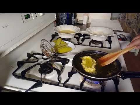 Keto fried pickle recipe almost fail