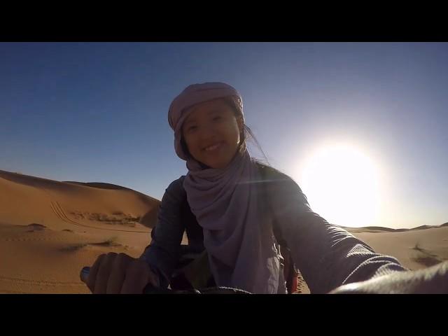 〔瓜鵝生活〕GUARRRinSAHARA|摩洛哥騎駱駝進撒哈拉沙漠
