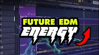 Future EDM Energy | 3,2 GB Of FL Studio Templates, Melodies, Drums & More!