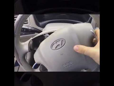 How To Remove Steering Wheel Airbag Hyundai Tucson