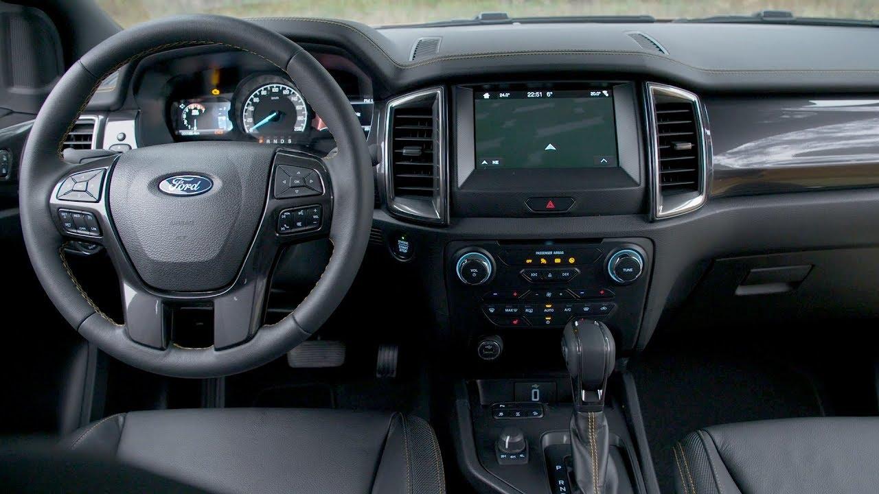 2019 Ford Ranger Wildtrak Interior Youtube