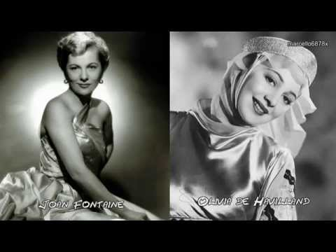 Hollywood Legends   Sisters Olivia DE HAVILLAND and Joan FONTAINE   Sorry the hardest word