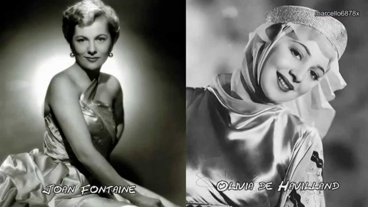 Hollywood legends sisters olivia de havilland and joan for Joan fontaine and olivia de havilland feud