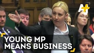 UK's Youngest Member Of Parliament Challenges Government In Maiden Speech