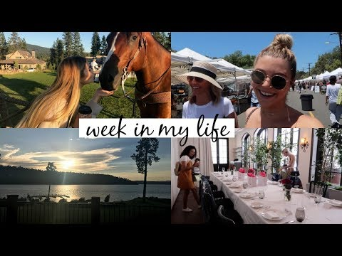Farmers Market w/ Mom, BTS w/ Sephora Collection, etc. - WEEKLY VLOG l Olivia Jade