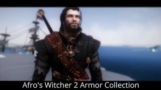 WITCHER INSPIRED - Skyrim Mods - Afro's Witcher 2 Armor Collection