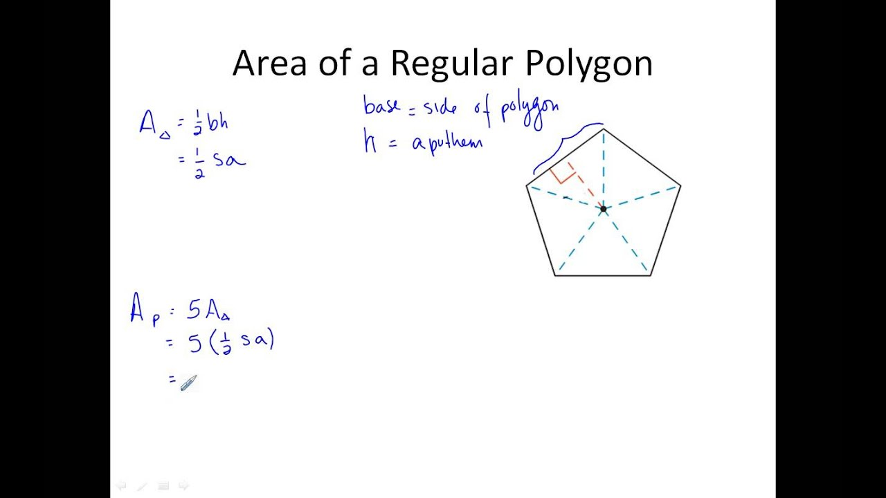 How To Find Area Of A Pentagon – Areas of Regular Polygons Worksheet