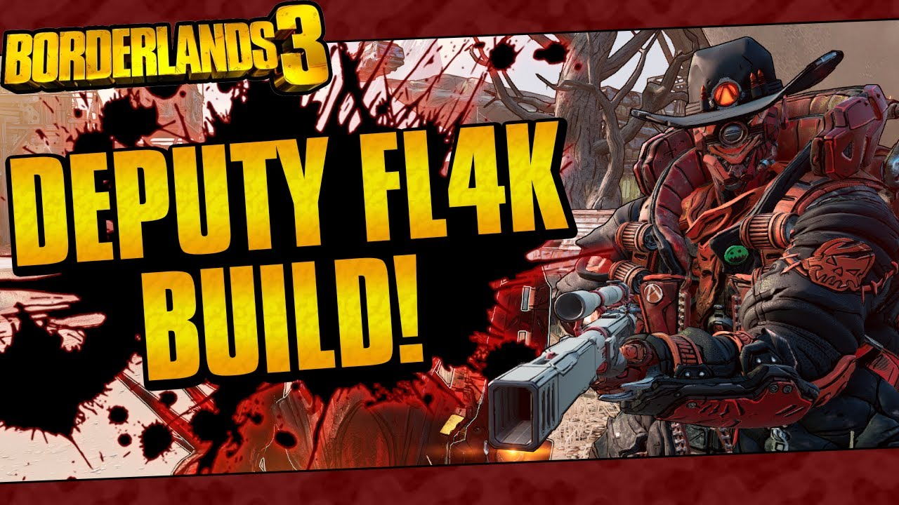 Borderlands 3 | Deputy FL4K Build (Mayhem 4 One-Shots! + Game Save) thumbnail