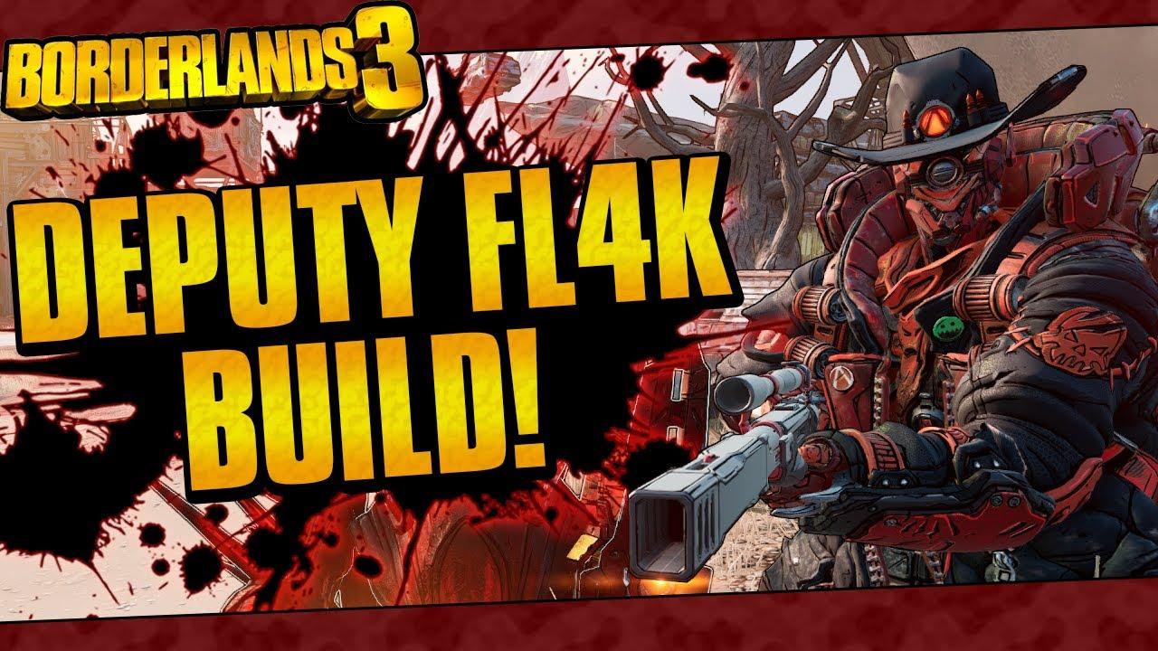 Borderlands 3 | Deputy FL4K Build (Mayhem 4 One-Shots! + Game Save) thumbnail