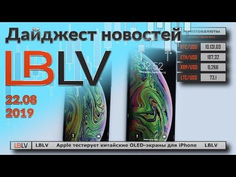 LBLV Apple тестирует новые экраны для IPhone 22.08.2019