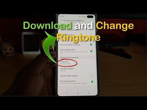 How To Download And Change Ringtone Galaxy S10