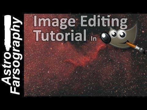 GIMP Astrophotography Editing Tutorial thumbnail