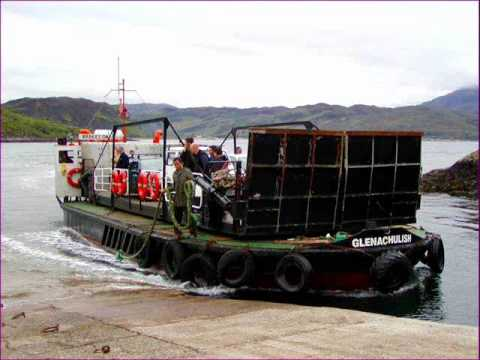Skye Boat Song - Scottish Melody - Kylerhea Straits - NATO Ships