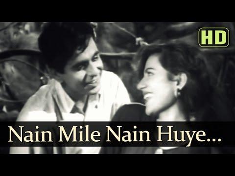Nain Mile Nain Huye - Tarana Songs - Dilip Kumar - Madhubala - Lata Mangeshkar - Talat Mahmood