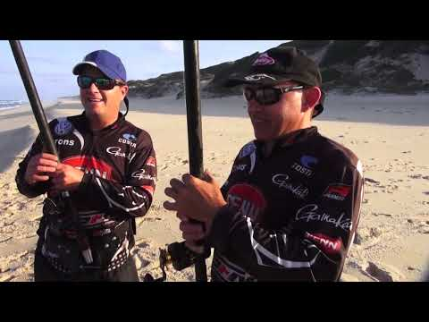 ASFN Rock & Surf - Some Great Edible Fishing at Paradise Beach Mozambique