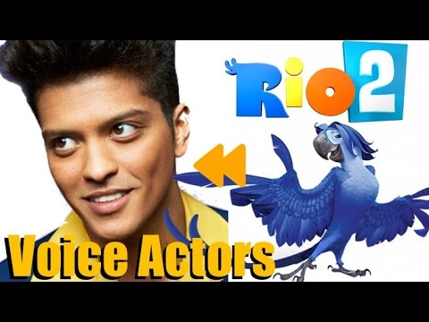 "Thumbnail: ""Rio2"" (2014) Voice Actors and Characters"
