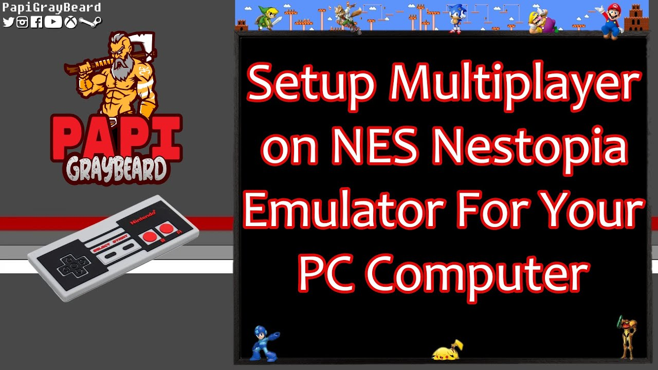 NES Nestopia Emulator - How to add multiple players