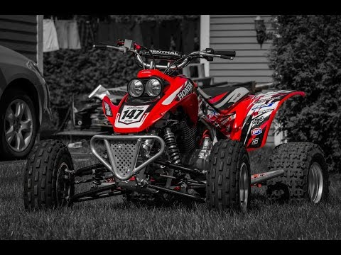 ATV Movie Clip #10: 400ex New Graphics & Trail riding