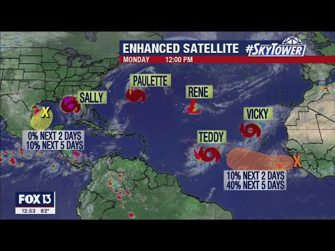Tropical weather forecast: Sept. 14, 2020